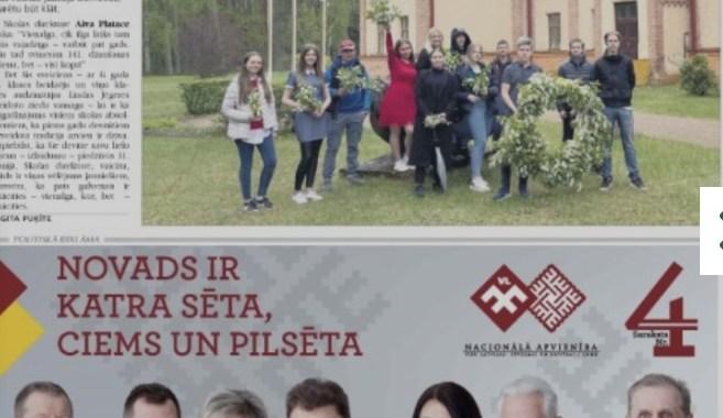 29. maija laikraksta apskats ar Ivonnu Plaudi