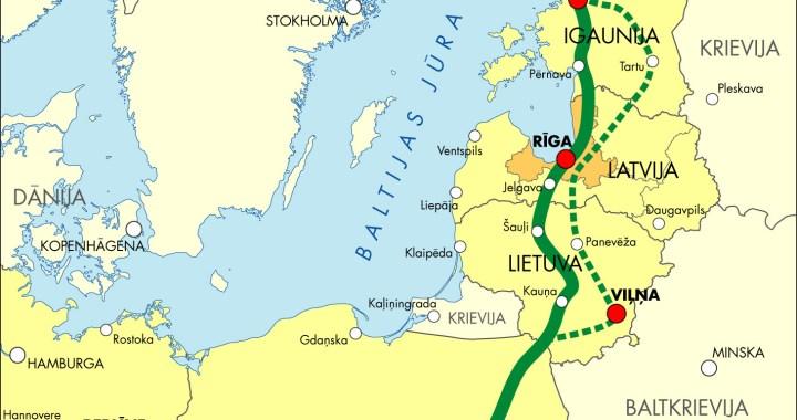 Baltijas valstis «Rail Baltica II» izpētes sāks šogad