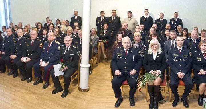 Valsts policija nosvinējusi savu simtgadi