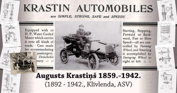 Vienīgais pasaulē – «KRASTIN auto» jau pavisam drīz Rīgas Motormuzejā