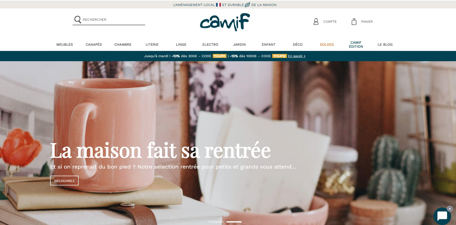 camif les meubles made in france et