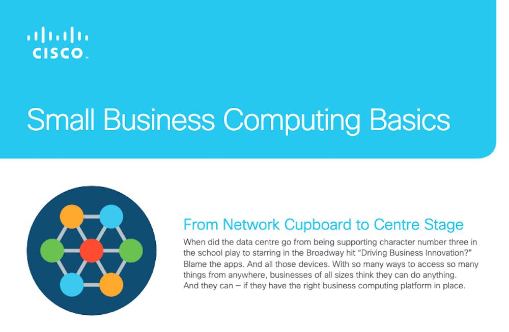 Small Business Computing Basics Checklist