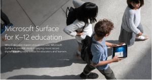 Microsoft Surface EDU Security
