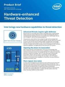 Hardware-enhanced Threat Protection