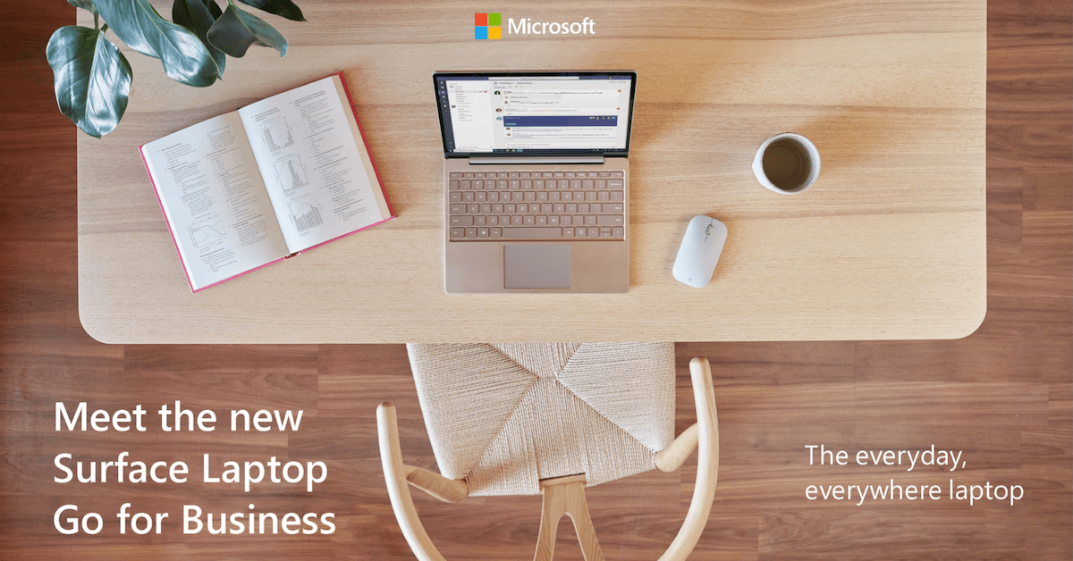 Meet the New Surface Laptop Go for Business