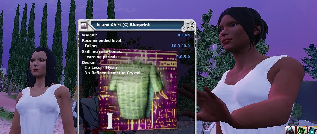 Island Shirt Blueprint
