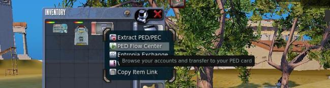 PED Flow center