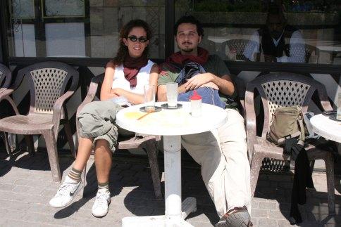 Reposando en Marrakech