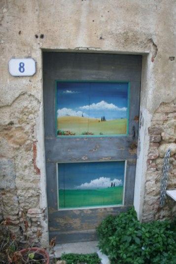nubes y colinas - Volterra (Italia)