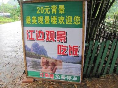 20 Yuan famosos. Por el río Li (Xingping, China)