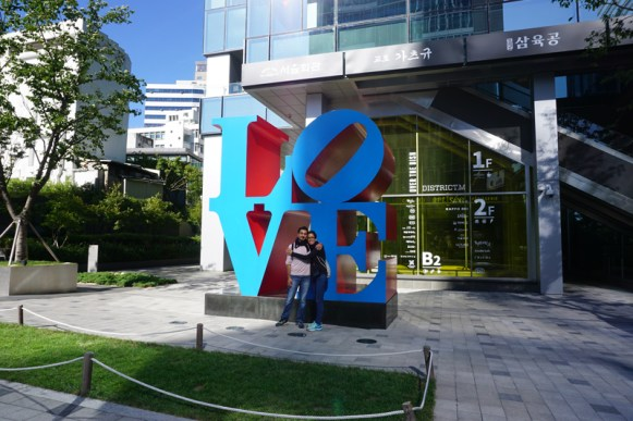 Love is in the air! (Seúl -Corea del Sur)