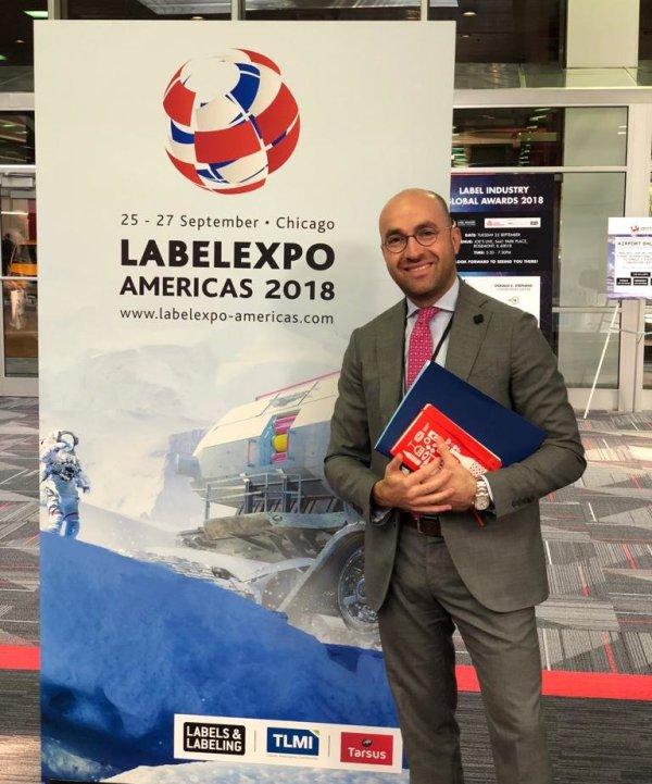 Guido Iannone @ LabelExpo Americas 2018