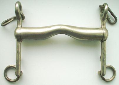 Abbildung 2: Die Nagra-Kandare des BFE; ein äusserst einfaches und besonders wirkungsvolles Modell (Wikipedia)