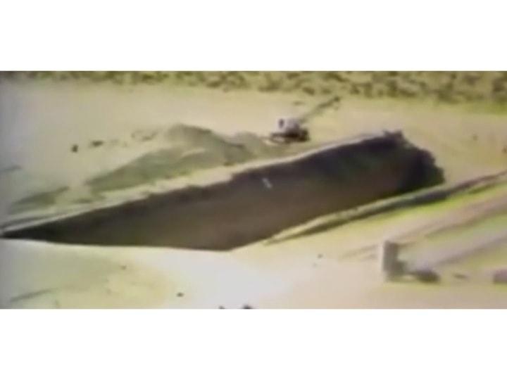 Figur 2: Aushebung eines Lagergrabens (trench), Bild-Dokumentation