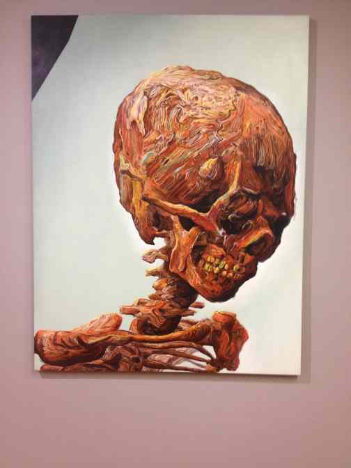 "Glenn Brown ""suffer well"", Fondation Van Gogh, Arles"