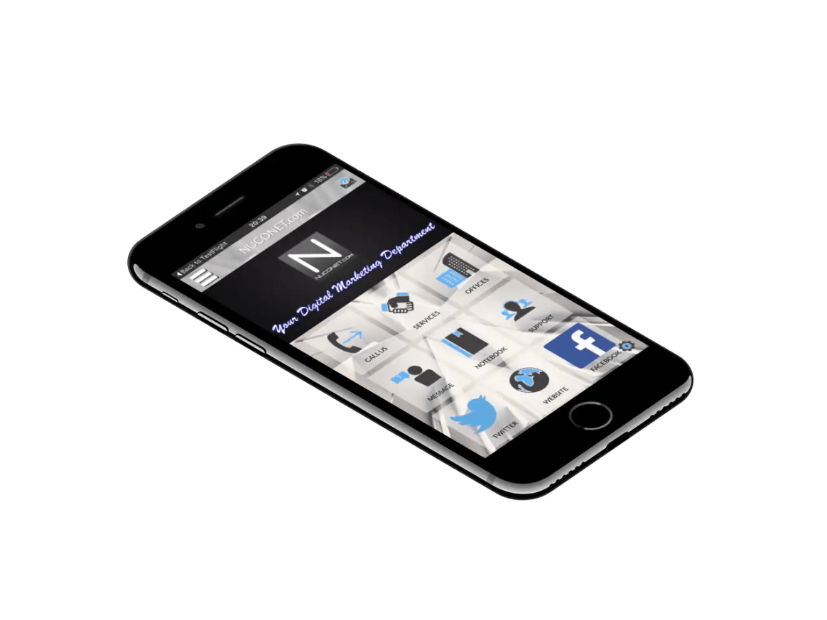 nuconet digital marketing app