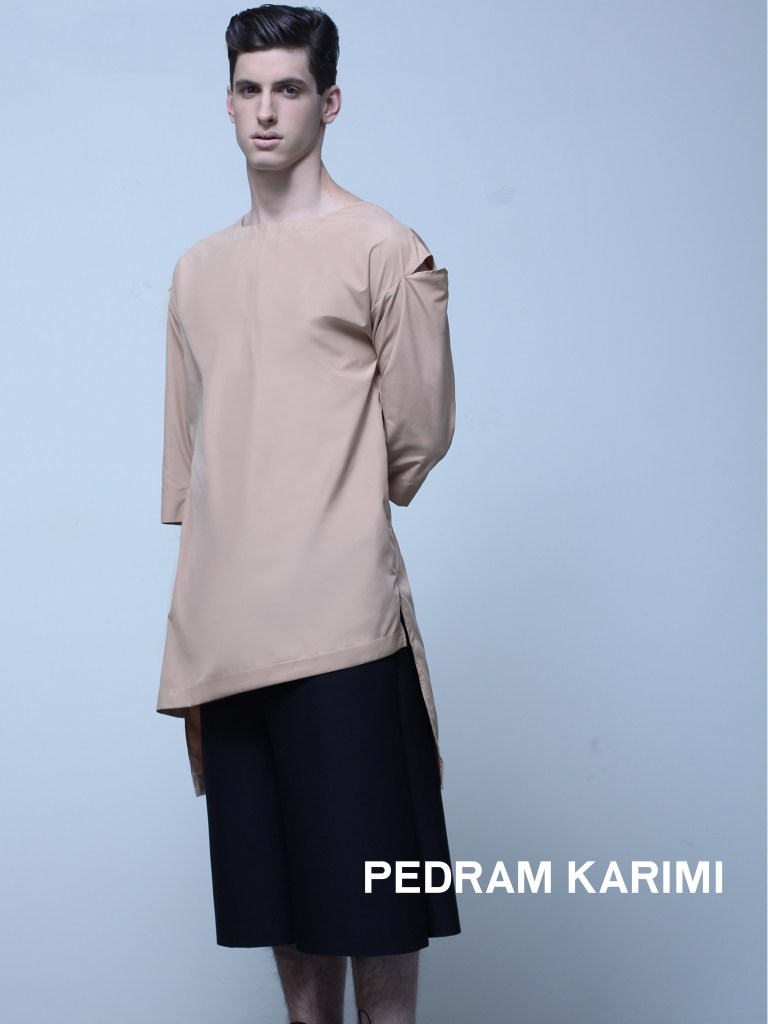 Pedram Karimi Montreal Fashion Gender Neutral