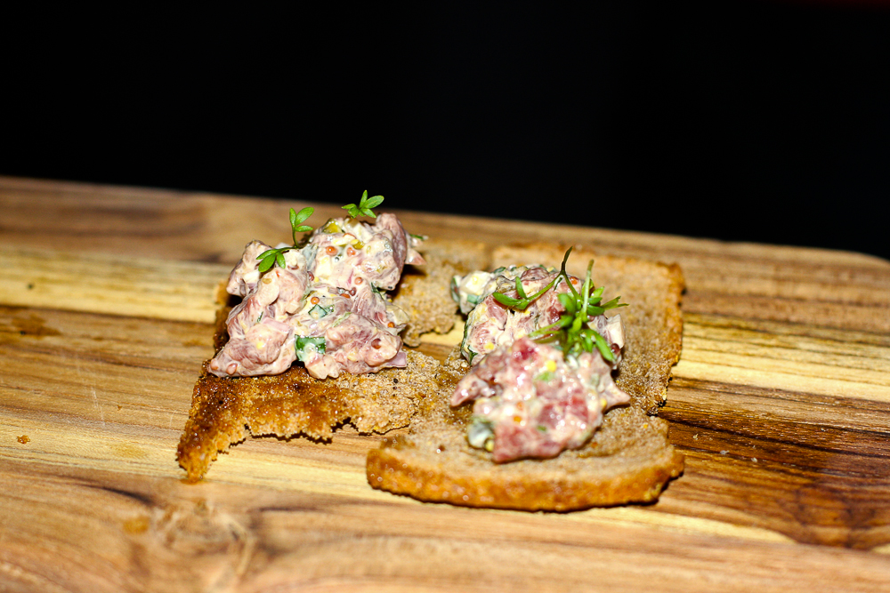 Tartare on the new menu at SUWU