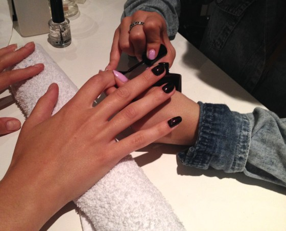 Hands Manicure Nails Cat Cafe Montreal Trust Fund Beauty