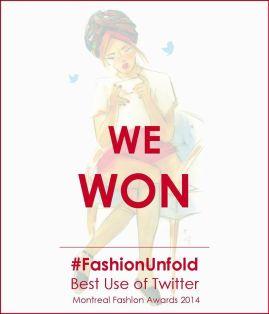 Award Fashion Twitter Media Montreal