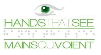 Hands Eye Green Logo Montreal