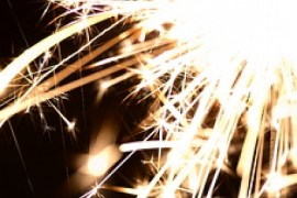 fire sparkler party festive