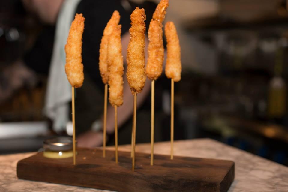 Crevettes frites - Photo Patricia Brochu
