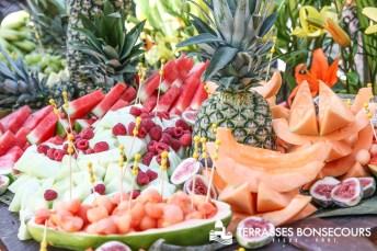 Terrasses Bonsecours Montreal Fruit Summertime