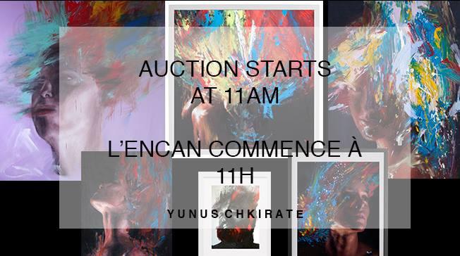 Yunus Chkirate Art Auction Maison Plein Coeur