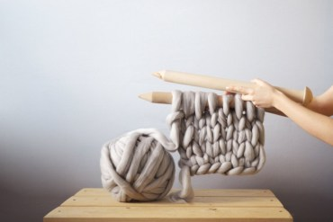 Fashionable Gift Ideas Knit Blanket Ohhio Etsy