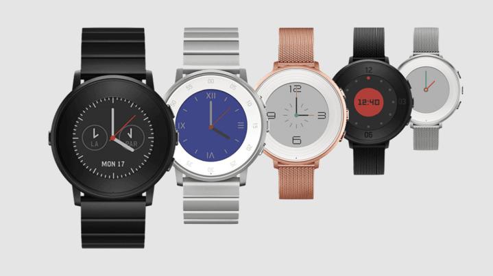 Peeble smart watch tech Wearable Gift Ideas