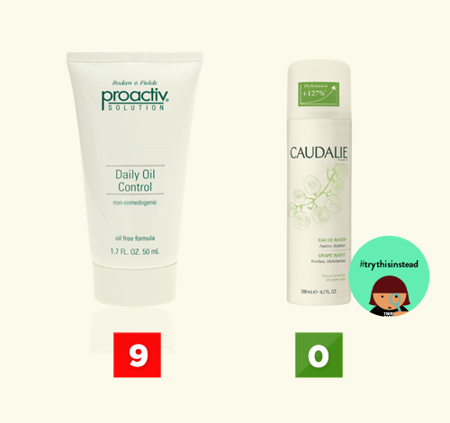 Caudalie Think Dirty App Proactive Toxic Rating Review Skincare