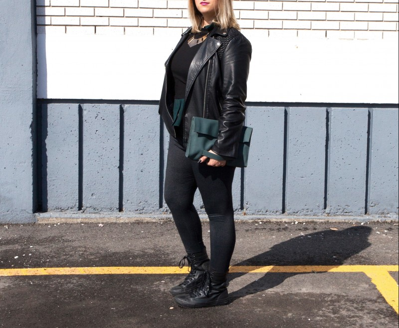 Jessica Converse Boots Montreal Spring Girl Outfit of the day Fashion blog
