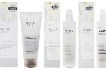 White Seed THEFACESHOP brightening serum Korean Skincare