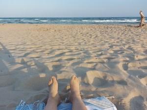 spiaggia termitosa