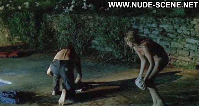 Ludivine Sagnier Nude Blonde Posing Hot Tits Blowjob Nude Scene Pool
