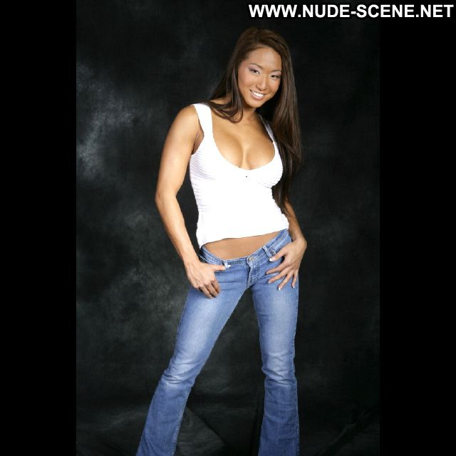Gail Kim Jeans Asian Famous Sexy Nude Scene Showing Tits Hot