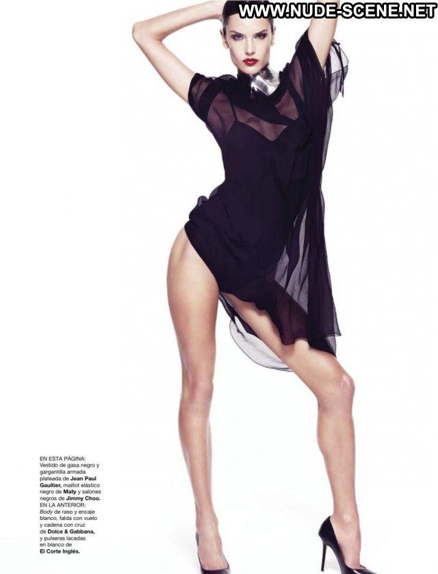 Alessandra Ambrosio Nude Scene Nude Posing Hot Brazil Sexy Dress