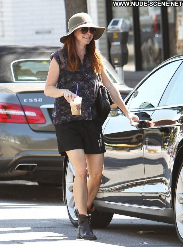 Alyson Hannigan Studio City Posing Hot Beautiful Celebrity High
