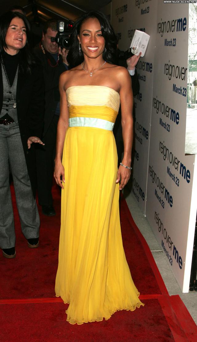 Jada Pinkett Smith Singer Celebrity Babe Couple Beautiful Posing Hot