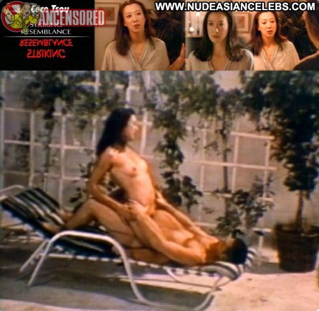 Cece Tsou Striking Resemblance Gorgeous Brunette Hot Nice Medium Tits
