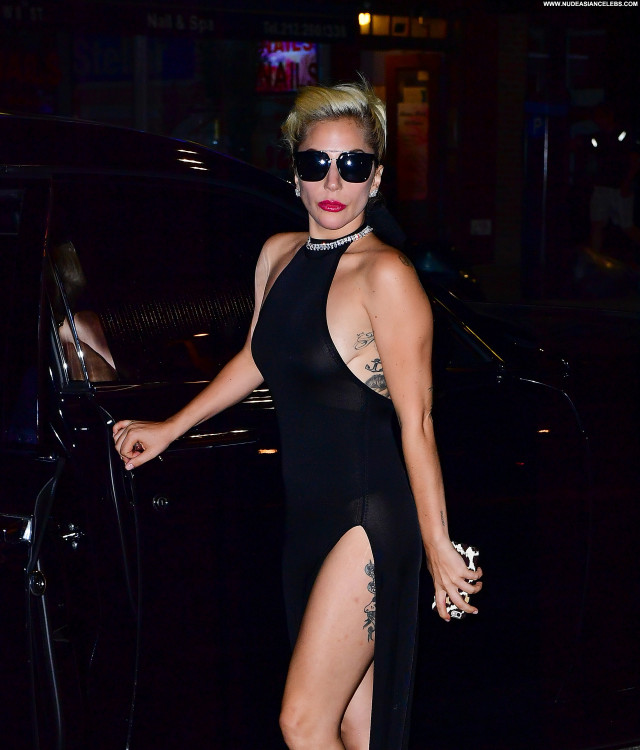 Lady Gaga New York Singer Posing Hot Celebrity Beautiful New York