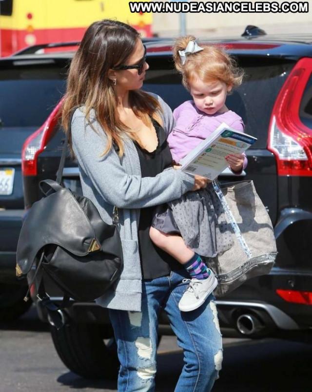 Jessica Alba Beverly Hills Paparazzi Celebrity Beautiful Posing Hot