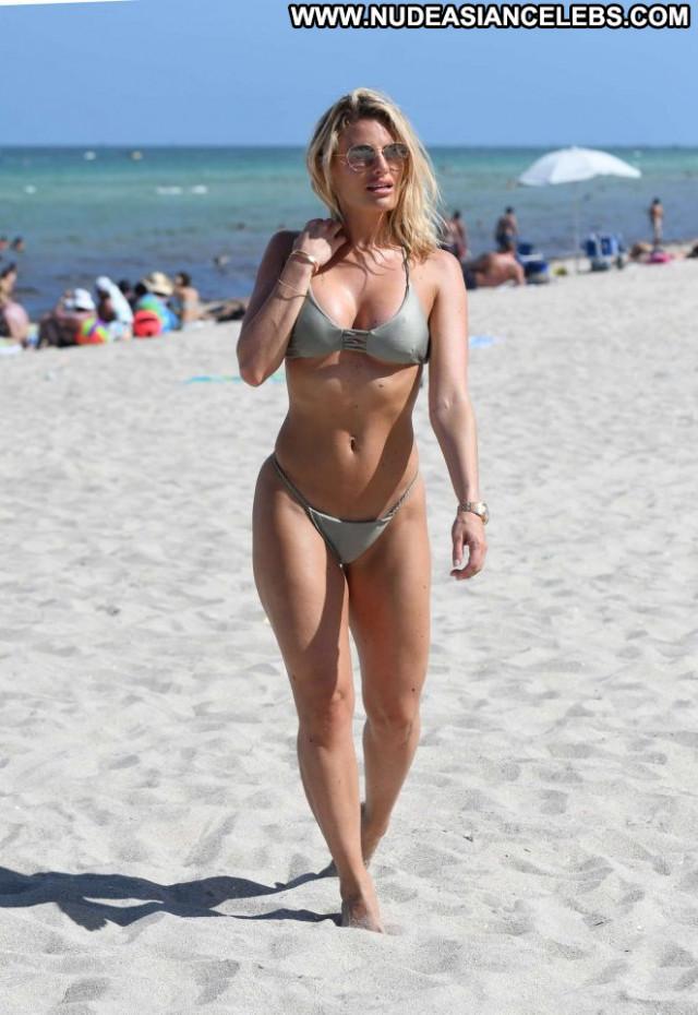 Danielle Armstrong The Beach Celebrity Beach Beautiful Bikini Posing