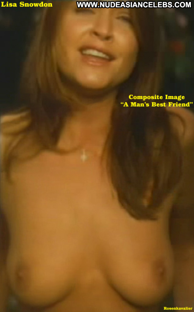 Lisa Snowdon Frame By Frame See Through Posing Hot Model Babe Breasts