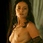Lara Pulver who played who played Claudine Crane nude