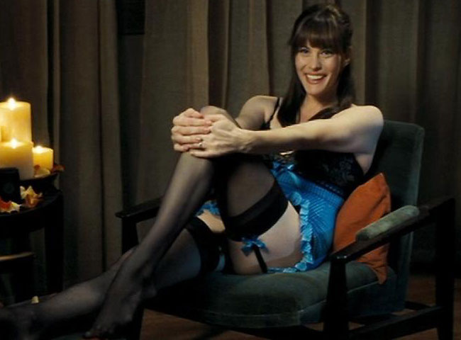 incredible hulk star liv tyler hot stockings