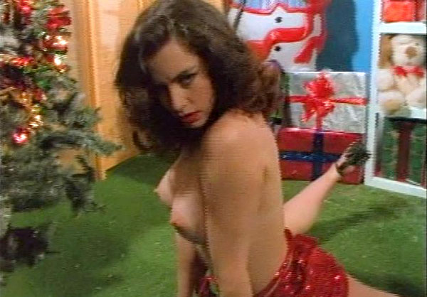 debbie rochon nude in the christmas horror santa claws