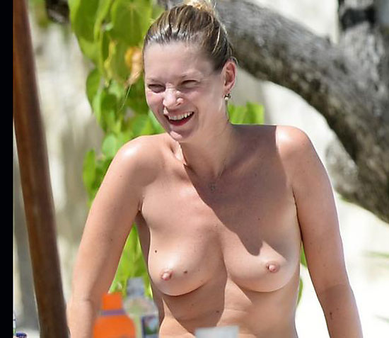 british celeb beach nudity kate moss