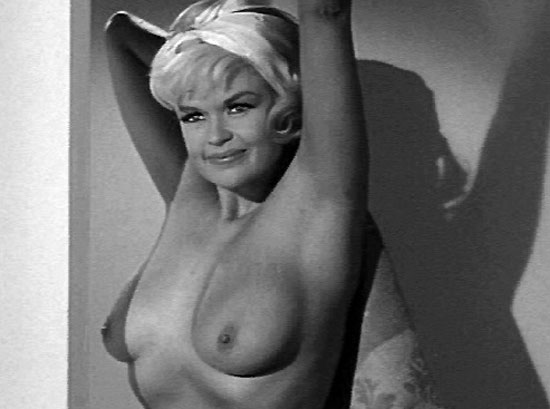 black and white celebrity nude jayne mansfield